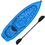 Lifetime Lotus Sit-On-Top Kayak with Paddle, Blue, 8'