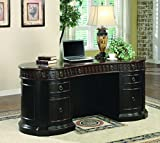 Product review for Coaster Oval Shaped Executive Desk