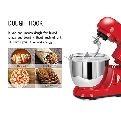CHEFTRONIC-Standing-Mixer-One-Size-Red