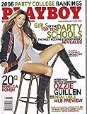 Playboy Magazine - May 2006 - Rebecca Romijn, Top 10 Party Schools