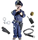 Joyin Toy Spooktacular Creations Deluxe Police Officer Costume and Role Play Kit (Toddler)