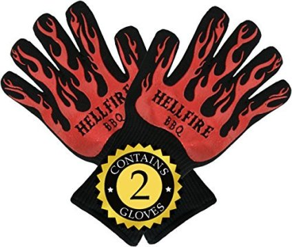 HellFire-BBQ-Ove-Gloves-are-Extremely-Flame-Heat-Resistant-Barbecue-Mitts-with-Silicone-Fingers-for-Grilling-Smoker-Pit-Fireplace-Camping-or-Kitchen-Oven-EN407-Rated-to-932-Fahrenheit