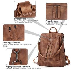 leather bag , Anti-theft backpack , water resistance