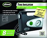 Slime 40032 12-Volt Tire Inflator with Gauge and Light