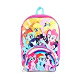 Hasbro My Little Pony 16' Rainbow Backpack with Insulated Lunch Kit