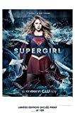 RARE POSTER thick SUPERGIRL movie 2016 tv show REPRINT #'d/100!! 12x18