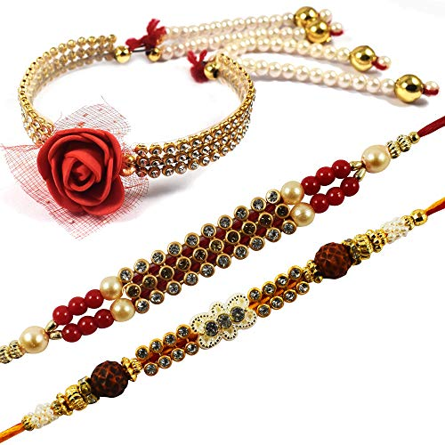 Exclusive Bhaiya Bhabhi Rakhi Set of 3