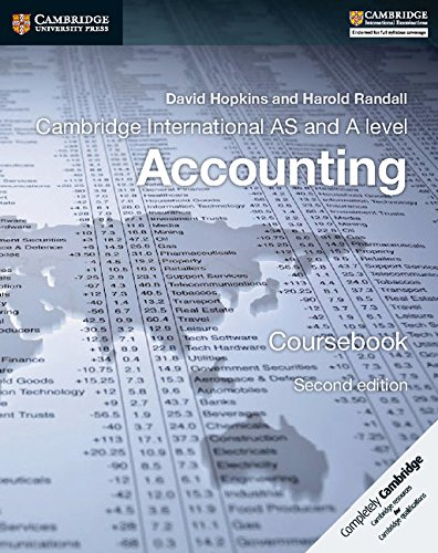 [wZOUv.E.b.o.o.k] Cambridge International AS and A Level Accounting Coursebook by David Hopkins, Harold Randall [Z.I.P]