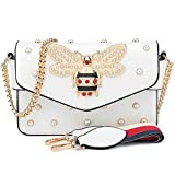 BNWVC Purses and Handbags for Women Designer Shoulder Crossbody Bags for Women with Chain Bee Fashion