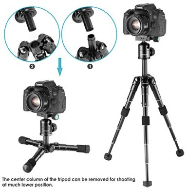Neewer-20-inches50-Centimeters-Portable-Compact-Desktop-Macro-Mini-Tripod-with-360-Degree-Ball-Head14-inches-Quick-Release-Plate-Bag-for-DSLR-Camera-Video-Camcorder-up-to-11-pounds5-kilograms
