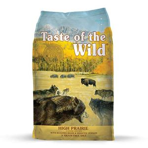 Taste of The Wild Grain Free Premium High Protein Dry Dog Food High Prairie Adult - Roasted Bison and Venison 5