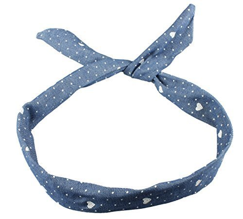 Lizzy Rockabilly Wire Hair Head Band Vari Disegni By