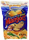 Philippine Brand Naturally Delicious Dried Mangoes Tree Ripened Value Bag 1Pack (30 Ounces) Qlhle