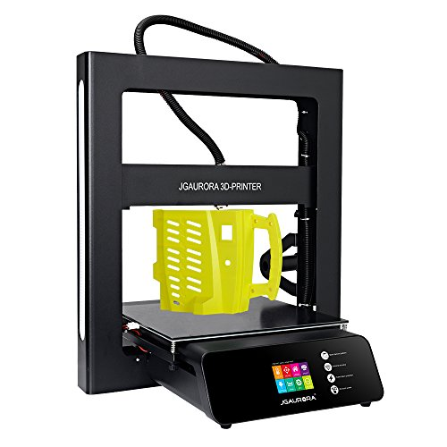 JGAURORA 3d Printer A5 Full Metal Frame Large Print Volume 305X305X320mm Color Touch Screen Resume Print Filament Runs Out Detection 3d Printing Machine Home School Industry Use
