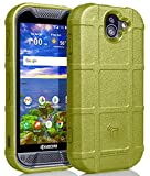 Duraforce Pro 2 Case, Nakedcellphone [Olive OD Green] Special Ops Tactical Armor Rugged Shield Flexible Cover [Anti-Fingerprint, Matte Texture] for Kyocera Duraforce Pro 2 (E6910/E6920)
