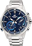 Casio Men's EQB-700D-2A Edifice Bluetooth  Solar Powered Alarm Watch