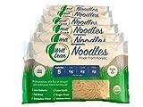 Organic Well Lean Noodles (6 PACK/57.1 oz) - Premium Shirataki [KETO, Non-GMO, Ready to Eat, ODOR FREE] | LOW CALORIE, LOW CARB - Gluten Free, Vegan, Diet Food | Premium Konjac Pasta