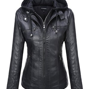 Michel Womens Fleece Jacket Classic Crop Rider Zip UP Jacket 22 Fashion Online Shop gifts for her gifts for him womens full figure