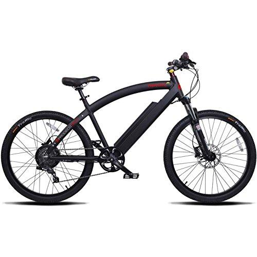 "ProdecoTech Phantom X R V5 36V600W 8 Speed Electric Bicycle 14Ah Samsung Li Ion, Matte Black, 18""/One Size"