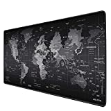 JIALONG Extended Gaming Mouse Pad Large Size 900x400mm Ergonomic Multipurpose Comfortable Anti-Fray Stitched Edges XXL Mousepad Desk Mat for Gamer Computer PC Keyboard and Mouse