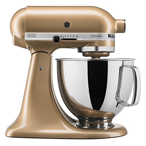 Champagne Kitchenaid 5 Qt Artisan Series With Pouring