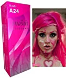 Berina Permanent Hair Dye Color Cream # A24 Dye Pink Punk