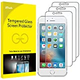 JETech Screen Protector for Apple iPhone 6s and iPhone 6, Tempered Glass Film, 3-Pack