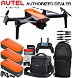 Autel Robotics EVO Foldable Quadcopter with 3-Axis Gimbal Starters Backpack Bundle with Free On-The-Go Kit