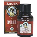 Badger, Hair Oil Mens Organic, 2 Fl Oz