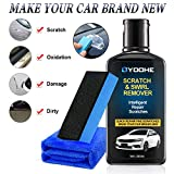 YOOHE Car Scratch Swirl Remover Kit - Ultimate Car Scratch Remover, Polish & Paint Restorer, Easily Repair Paint Scratches, Light Scratches, Water Spots, Car Buffer Kit