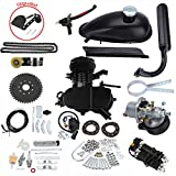 HGC Complete Engine Kit W/Upgraded Chain Tension Black For 80cc 2 Stroke Gas Motorized Bicycle Bike