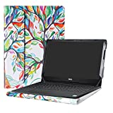 Alapmk Protective Case Cover For 15.6' Dell Inspiron 15 3593 3595 3585 3584 3583 3582 3581 3580 3573 3567 3565 3568 3576 3573 3551 3552 3558 Series Laptop(Note:Not fit 3542 3543 3541),Love Tree