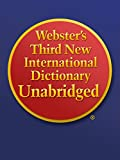 Webster's Third New International Dictionary Unabridged