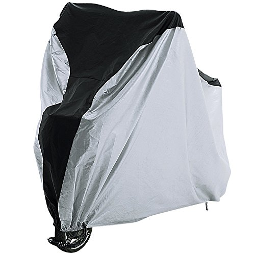 REEHUT Bike Cover - 210T Polyester/210D Oxford XL-1 Bike Heavy Duty Ripstop Material, Waterproof & Anti-UV - Protection from All Weather Conditions for Mountain, 29er, Road, Cruiser & Hybrid Bikes
