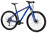 "Mongoose Men's Tyax Comp 27.5"" Wheel, Blue, 19.5 inch / Large"