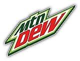 "Mountain Dew American Soft Drink Car Bumper Sticker Decal 6"" x 4"""