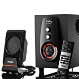 Frisby FS-6300BT Bluetooth Wireless 2.1 CH Subwoofer Speaker Media System with Remote Control for Tablets, Laptops and Desktop Computers