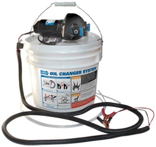 Jabsco 17850-1012 DIY Engine Oil Change System, 3.5 Gallon Capacity, 12 Volt
