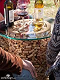 Wine Cork Table - 23in.Dia. x 27 1/4in.H
