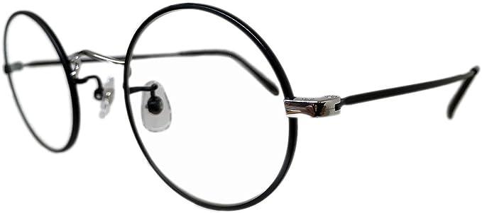 Amazon | EFFECTOR (エフェクター) メガネ チタンフレーム/ラウンド型 ...