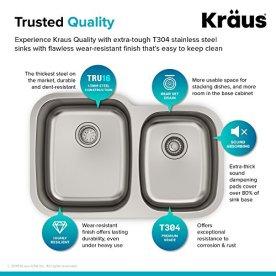 Kraus-KBU24-32-inch-Undermount-6040-Double-Bowl-16-gauge-Stainless-Steel-Kitchen-Sink