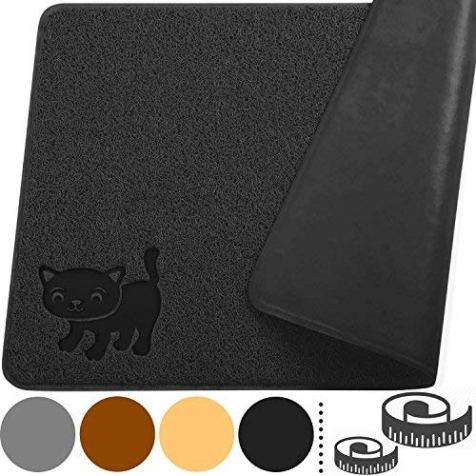 Smiling-Paws-Pets-Cat-Litter-Mat-BPA-Free-XL-Size-35-x235-Non-Slip-Tear-Scratch-Proof-Easy-to-Clean-Kitty-Litter-Catcher-with-Scatter-Control-Extra-Large-Black