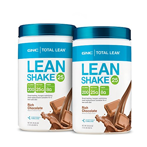 GNC Total Lean Lean Shake 25 - Rich Chocolate Bundle