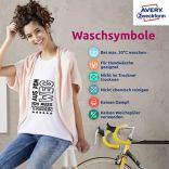 Avery-Zweckform-Paquet-de-24-feuilles-A4-de-transferts-pour-t-shirt--textile-clair-Import-Allemagne