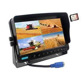 CAMSLEAD-Vehicle-Vision-Safety-Backup-Camera-System-7-inch-Monitor-Built-in-DVR-Recorder-with-Quad-Split-Screen-Vehicle-Side-Camera-Rear-View-Camera-Monitor-Kit-for-Truck-Van-Caravan-Trailers