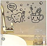 Wall Stickerwall Stickers Mural Lovely Modern Cost Price Toothbrush Cute Home Decor Wall Stickers Kids Bathroom Laundry Waterproof Mural Art