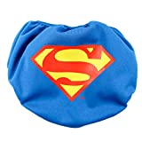 Bumkins DC Comics Reusable Swim Diaper, Superman Icon, Medium