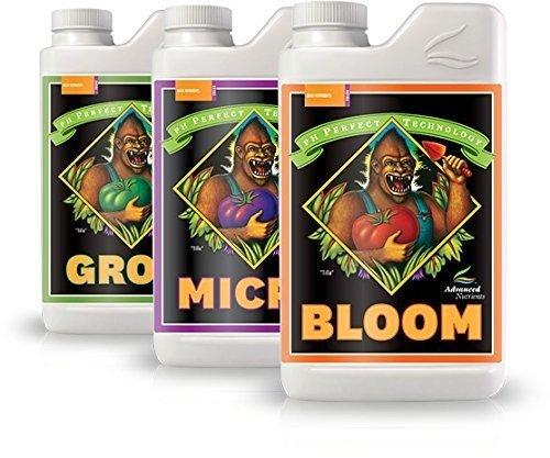 Advanced Nutrients Bloom, Micro & Grow 3 Pack
