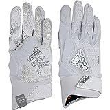 adidas Freak 3.0 Padded Receiver's Gloves, White, Medium