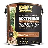 DEFY Extreme 1 Gallon Semi-Transparent Exterior Wood Stain, Cedar Tone